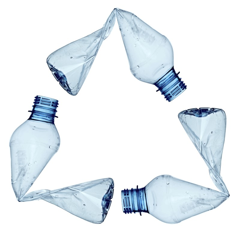 plastic bottles recycle